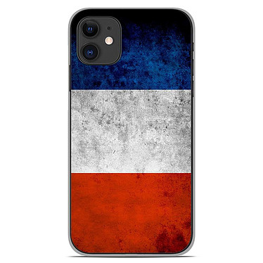 1001 Coques Coque silicone gel Apple iPhone 11 motif Drapeau France Coque silicone gel Apple iPhone 11 motif Drapeau France