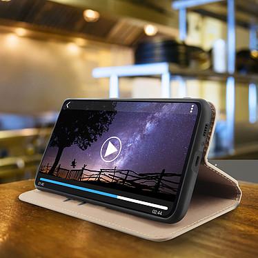 Avis Avizar Etui folio Dorée pour Samsung Galaxy A80