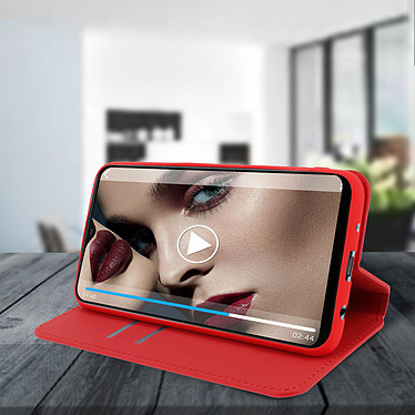 Avis Avizar Etui folio Rouge pour Samsung Galaxy A10