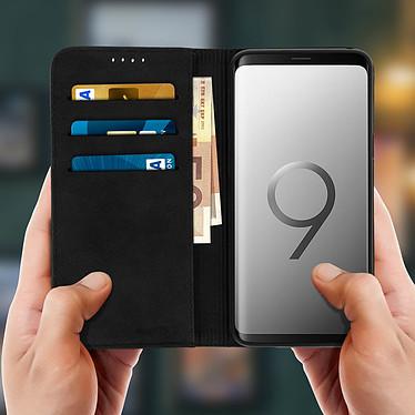 Acheter Avizar Etui folio Noir pour Samsung Galaxy S9