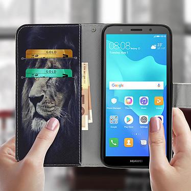 Acheter Avizar Etui folio Bleu Nuit pour Huawei Y5 2018 , Honor 7S