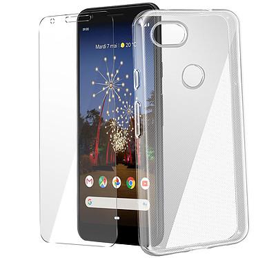 Avizar Pack protection Transparent pour Google Pixel 3A pas cher