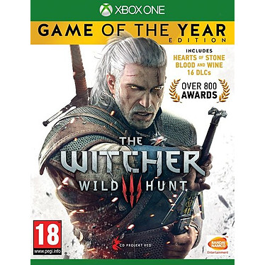The Witcher 3 Wild Hunt GOTY (XBOX ONE) Jeu XBOX ONE Action-Aventure 18 ans et plus