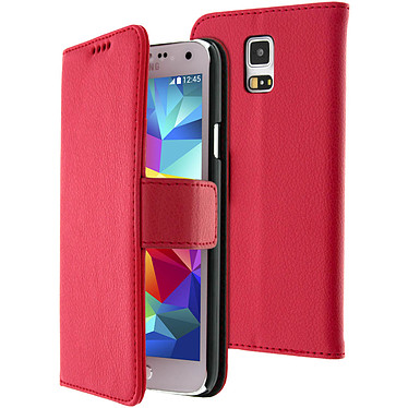 Avizar Etui folio Rouge pour Samsung Galaxy S5 , Samsung Galaxy S5 New Etui folio Rouge Samsung Galaxy S5 , Samsung Galaxy S5 New
