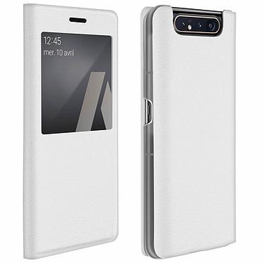 Avizar Etui folio Blanc pour Samsung Galaxy A80 Etui folio Blanc Samsung Galaxy A80
