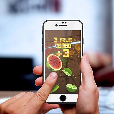 Avis Avizar Film verre trempé Blanc pour Apple iPhone 7 , Apple iPhone 8 , Apple iPhone SE 2020