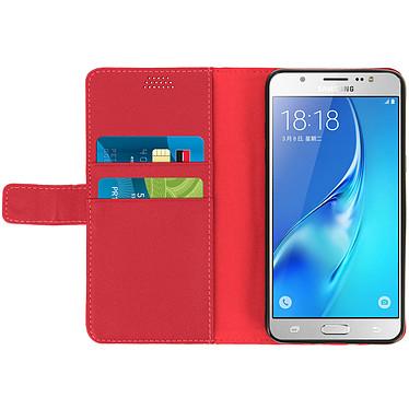 Acheter Avizar Etui folio Rouge pour Samsung Galaxy J5 2016