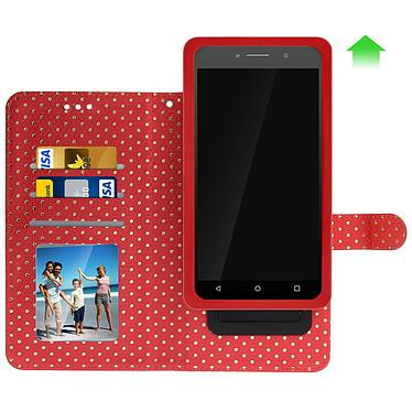 Avis Avizar Etui folio Rouge pour Smartphones de 5.0' à 5.3'