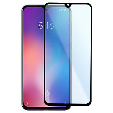 Avizar Film verre trempé Noir pour Xiaomi Mi 9 SE pas cher
