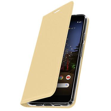 Avizar Etui folio Dorée pour Google Pixel 3A XL pas cher