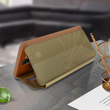 Acheter Avizar Etui folio Dorée pour Xiaomi Redmi Note 8 Pro