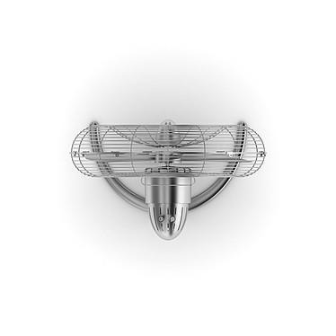 StadlerForm - Ventilateur CHARLY Floor - Acier inox pas cher