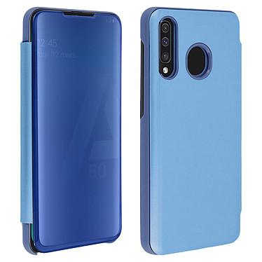 Avizar Etui folio Bleu pour Samsung Galaxy A50 , Samsung Galaxy A30s Etui folio Bleu Samsung Galaxy A50 , Samsung Galaxy A30s