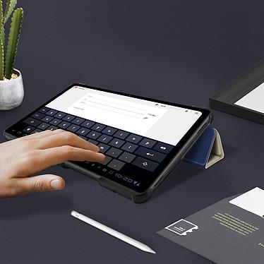 Avizar Etui folio Bleu Nuit pour Samsung Galaxy Tab A7 10.4 2020 pas cher