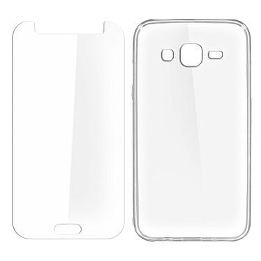 Avizar Pack protection Transparent pour Samsung Galaxy J5 pas cher
