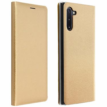 Avizar Etui folio Dorée pour Samsung Galaxy Note 10 Etui folio Dorée Samsung Galaxy Note 10