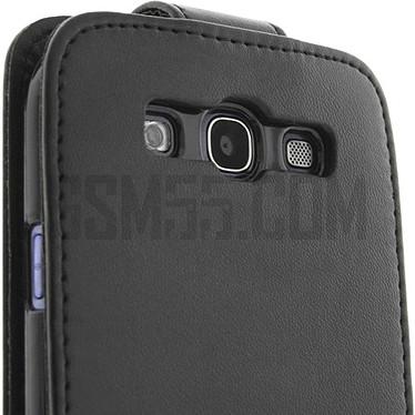 Avis Avizar Etui à clapet Noir pour Samsung Galaxy S3