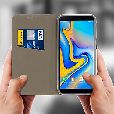 Acheter Avizar Etui folio Dorée pour Samsung Galaxy J6 Plus