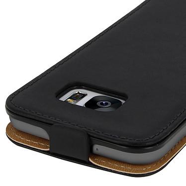 Avis Avizar Etui à clapet Noir pour Samsung Galaxy S7