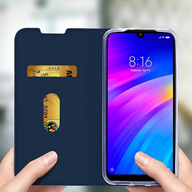 Avis Avizar Etui folio Bleu Nuit pour Xiaomi Redmi 7