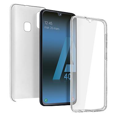 Avizar Coque Transparent pour Samsung Galaxy A40 Coque Transparent Samsung Galaxy A40