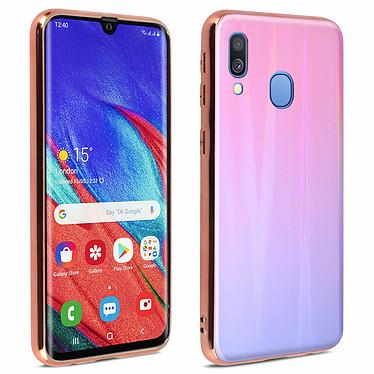 Avizar Coque Rose pour Samsung Galaxy A40 Coque Rose Samsung Galaxy A40