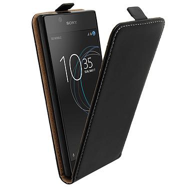 Avizar Etui à clapet vertical Noir pour Sony Xperia L1 Etui à clapet vertical Noir Sony Xperia L1