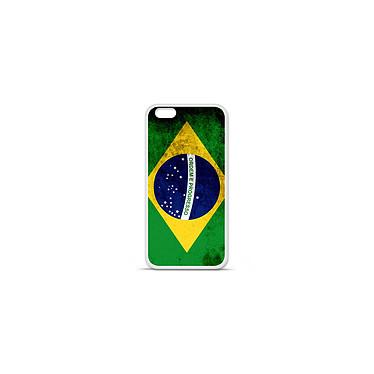 1001 Coques Coque silicone gel Apple IPhone 7 Plus motif Drapeau Brésil Coque silicone gel Apple IPhone 7 Plus motif Drapeau Brésil