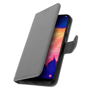 Avizar Etui folio Gris pour Samsung Galaxy A10 pas cher