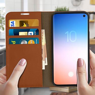 Acheter Avizar Etui folio Camel pour Samsung Galaxy S10e