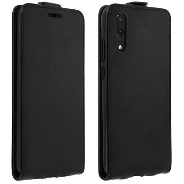 Avizar Etui à clapet Noir pour Huawei P20 Etui à clapet Noir Huawei P20