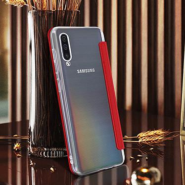 Avis Avizar Etui folio Rouge Miroir pour Samsung Galaxy A70