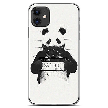 1001 Coques Coque silicone gel Apple iPhone 11 motif BS Bad Panda Coque silicone gel Apple iPhone 11 motif BS Bad Panda