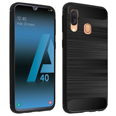 Avizar Coque Noir pour Samsung Galaxy A40 Coque Noir Samsung Galaxy A40