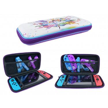 Just Dance Sacoche officielle pour Nintendo Switch Housse de protection pour Nintendo Switch console, jeux et accessoires