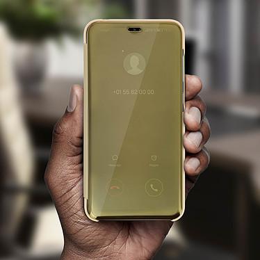 Avis Avizar Etui folio Dorée pour Huawei Y7 2019
