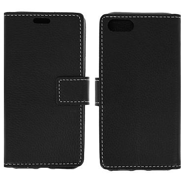 Avizar Etui folio Noir Éco-cuir pour Apple iPhone 7 , Apple iPhone 8 pas cher