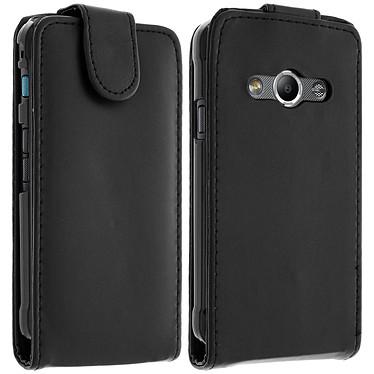 Avizar Etui à clapet Noir pour Samsung Galaxy Xcover 3 pas cher