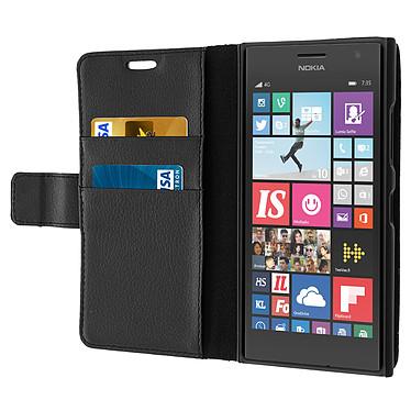 Acheter Avizar Etui folio Noir pour Nokia Lumia 735 , Nokia Lumia 730