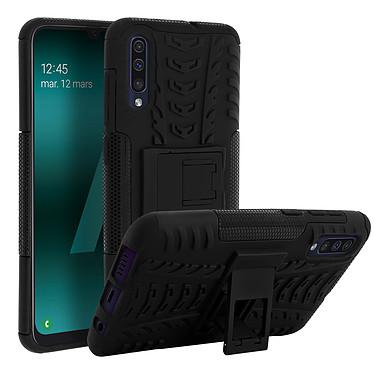 Avizar Coque Noir Hybride pour Samsung Galaxy A50 pas cher