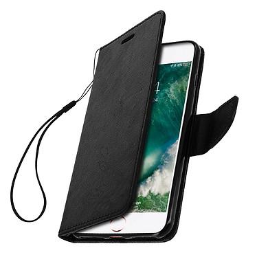 Avizar Etui folio Noir pour Apple iPhone 7 Plus , Apple iPhone 8 Plus pas cher