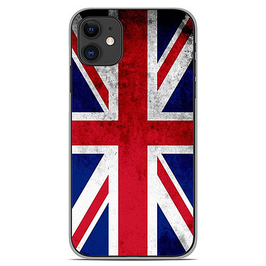 1001 Coques Coque silicone gel Apple iPhone 11 motif Drapeau Angleterre Coque silicone gel Apple iPhone 11 motif Drapeau Angleterre