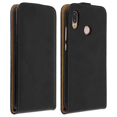 Avizar Etui à clapet Noir pour Huawei P20 Lite Etui à clapet Noir Huawei P20 Lite