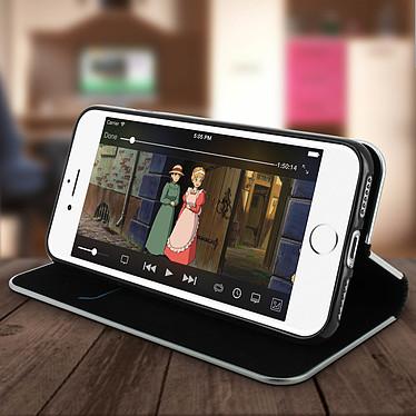 Avis Avizar Etui folio Noir pour Apple iPhone 7 , Apple iPhone 8