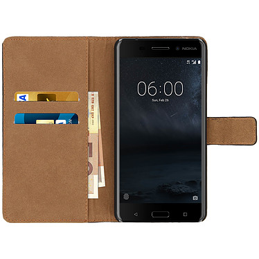 Acheter Avizar Etui folio Noir pour Nokia 6
