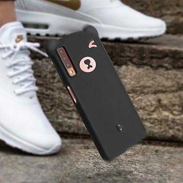 Avis Avizar Coque Noir Design Nounours pour Samsung Galaxy A7 2018