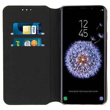 Acheter Avizar Etui folio Noir pour Samsung Galaxy S9 Plus