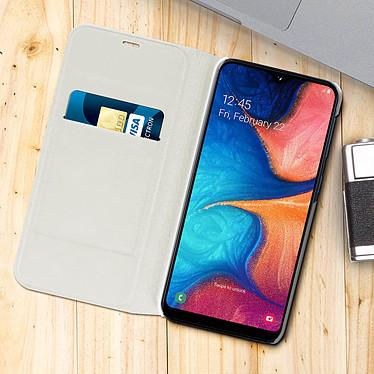 Acheter Avizar Etui folio Blanc pour Samsung Galaxy A20e