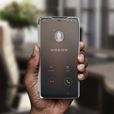 Avis Avizar Etui folio Argent pour Huawei P30 Lite , Honor 20S , Huawei P30 Lite XL