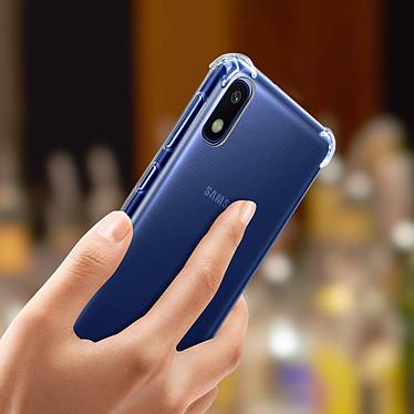 Avizar Coque Transparent pour Samsung Galaxy A10 pas cher
